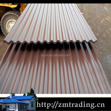 metal thin roof corrugated sheet