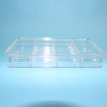 Transparent Plastic Storage Box With Lid