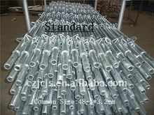 Safety and stably popular used Galvanized Layher Scaffolding