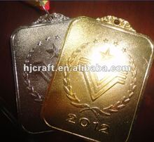 2012 award top bage Silver And Gold