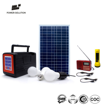 Rechargeable Solar Powered SHS Payg Solar Energy For Off-grid Area