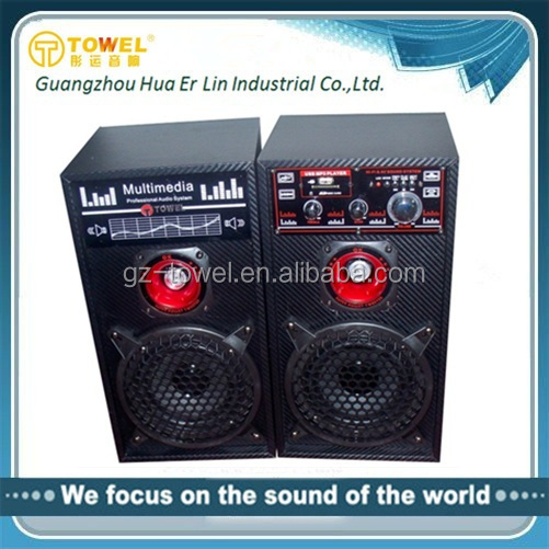 New design Enjoy Music Stage Speaker With USB Input Amplifier Speaker