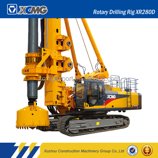 XCMG official manufacturer XR280D water well rotary pile drilling machine rig for sale