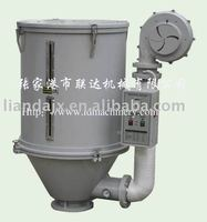 Plastic pellets hopper dryer