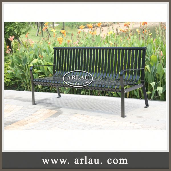 Arlau Hot Selling Outdoor Corner Bench,Waiting Furniture Bench,Contemporary Outdoor Public Seating