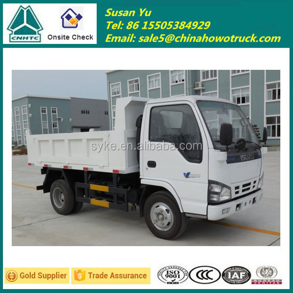 I'SUZU 4X2 5 Ton Capacity Tipper Truck for Sale