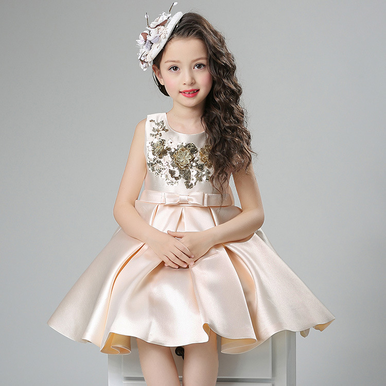 2018 New Children Frocks Designs Girls Clothing Party Dresses
