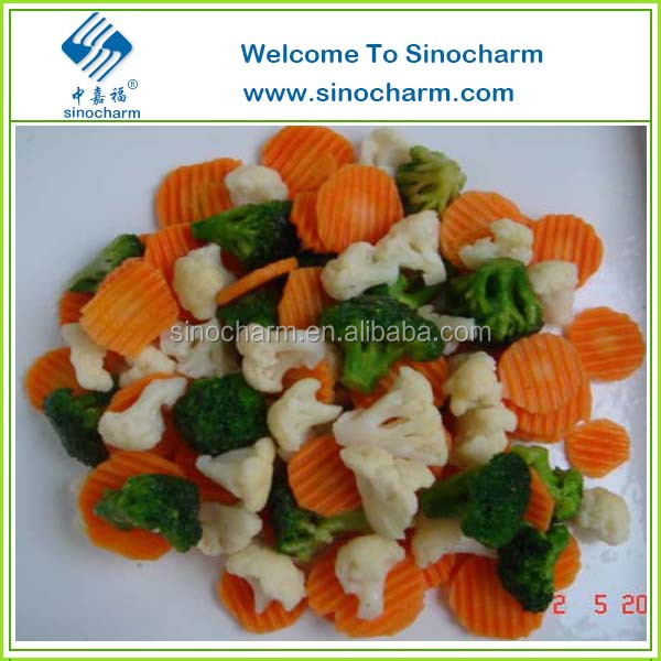 IQF mix vegetables With Frozen California Mixed Vegetable