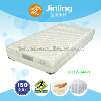 Luxury Pocket Coil Spring Mattress with memory foam in filling