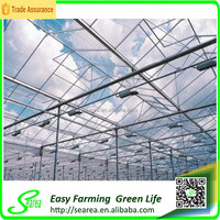 Galvanized steel frame greenhouse construction costs