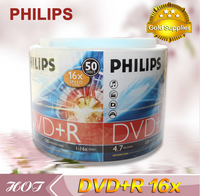 Philips dvd+r high capacity dvd verbatim 50packs dvd