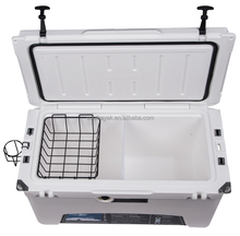 Kuer cooler supplier Food Use and PE Material rotomolded coolers 75qt with pu foam insulation