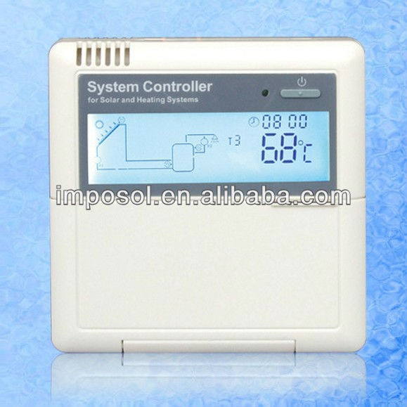 Intelligent Solar Controller For Solar Water Heating System