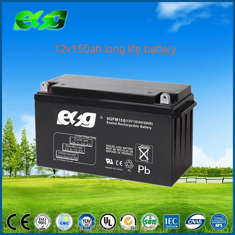 Wholesale Price Dry Cell Battery Rechargeable 12V 150AH Lead Acid Auto Battery