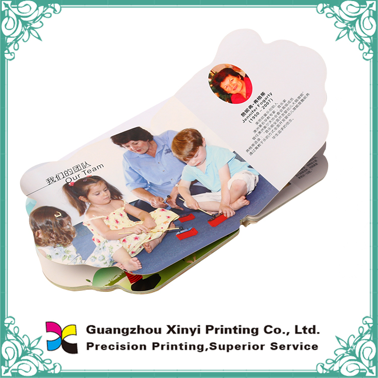 Thick colorful design printing customized paperboard kids Custom Children book