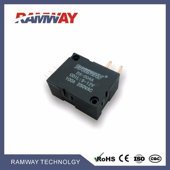 RAMWAY DS904A-A 100a 24v latching relay, pulse control relay, single pole switch