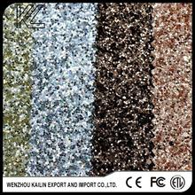 PU glitter leather fabric for shoes,pu artificial/synthetic leather