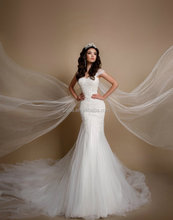 Wedding dress sexy fishtail wedding gown stock item