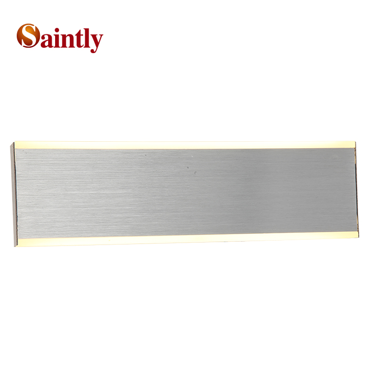 Indoor new modern metal wall lamp designs luxury decoration hotel aluminum LED wall light