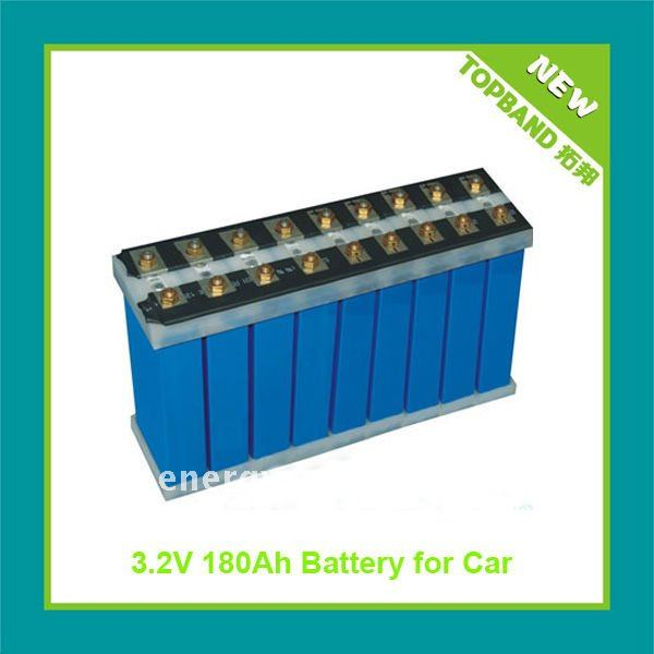 3.2V 25Ah LiFePo4 battery single cell
