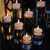 Different size Wedding decorative glass candle holder cheap candle holder for weddings