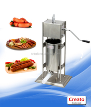 Italy Manual sheep hog beef haggis salami casing sausage making machine