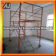 Metallic Ladder Type Frame Scaffolding For Concrete Supporting And Masonry Construction (Made in Guangzhou )
