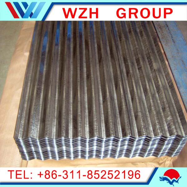 zinc steel roofing sheets weight/galvanized corrugated sheets/gi corrugated roof/sheet