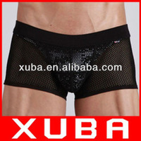 Hot selling underwear men brand cheap price without free shipping 50pcs/lot men underwear sexy cotton boxer shorts 201140