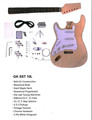 Electric guitar left hand semi kit GK SST 10L