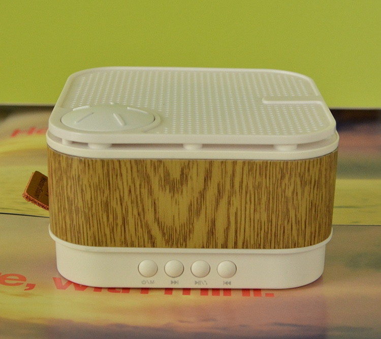 China Factory M1 Wireless Wood Speaker, Bluetooth Bass Speaker for Cell Phones Pad And PC