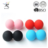 2016 Hot New Products Solid Lasergraved Logo 63mm Lacrosse Ball With Ncaa Sport Approved