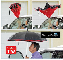 Inverted umbrella As Seen On TV UpSide Down Reverse Better Brella Amazon Top Sellers