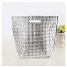 hot 3D sale aluminium foil insulated lunch bag insulated cooler tote bag box liner