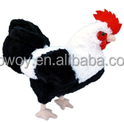 China Wholesale logo soft Rooster Plush Chicken Stuffed Chicken plush animal toy