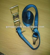 straps hook rope 100% polyester tie down