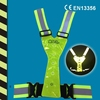 Reflective LED Vest For CE EN