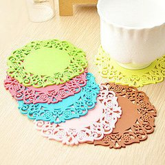 2015 New products silicone cup mat/ cup cutting mat using decorate the cup and water absorption