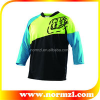 New Style Sports 80%Polyester 20% Spandex Men Cycling Shirt