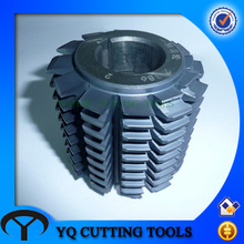 HSS m1-m6 Pre-grind gear hob, pre-grinding hob cutter with TIALN coating