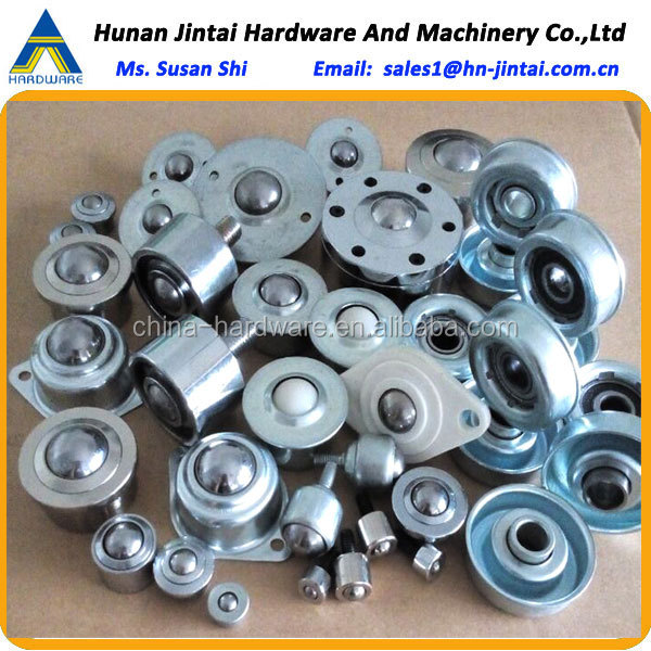 with solid steel housing ball transfer unit/spring loaded without clip heavy duty steel roller ball caster/ball transfer unit