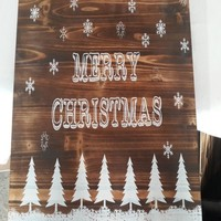 manufacturer sign board for office building for christmas