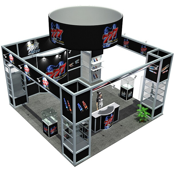 High Quality Aluminum 10x10 Exhibition Booth