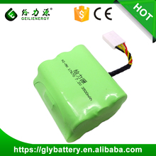 Geilienergy NI-MH Rechargeable 4/3A 17670 7.2V 3500mah Battery Pasks