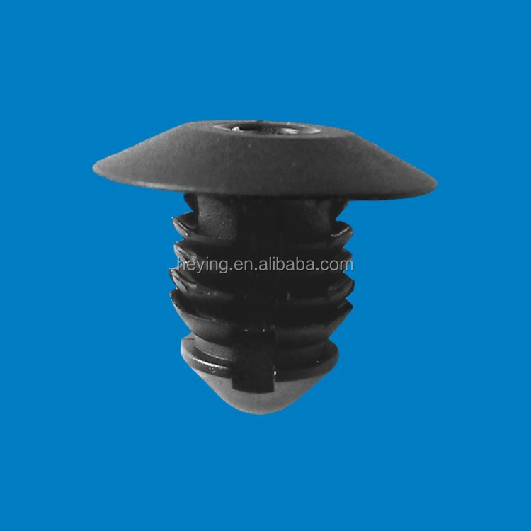 Plastic panel fastener push nylon rivet