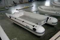 PVC inflatable speed cat catamaran boat