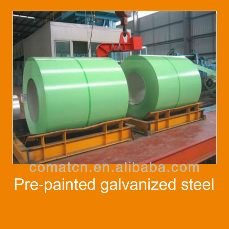 prepainted galvanized steel for roofing