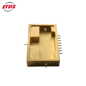 Microwave device electronic components metal hermetic package