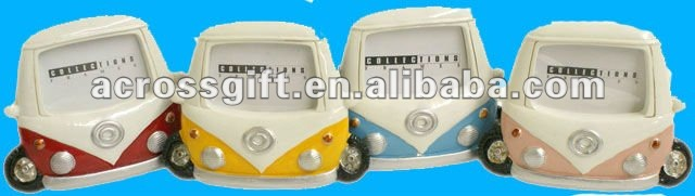 Lovely campervan model resin photoframe