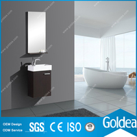 German Design Small Space Saving Bathroom Cabinet Furniture